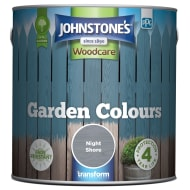 Johnstone's Paint Woodcare Garden Colours - Night Shore 2.5L