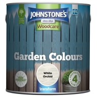 Johnstone's Paint Woodcare Garden Colours - White Orchid 2.5L