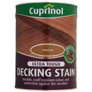 Cuprinol Anti-Slip Decking Stain Natural Oak 5L