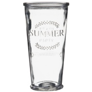 Summer Party Drinking Glass