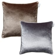 Croc Oversized Velvet Cushion