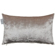 Metallic Velvet Cushion - Champagne