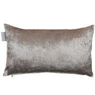 Metallic Velvet Cushion - Mauve