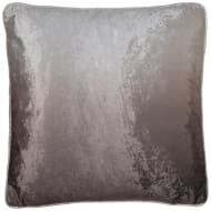 Ombre Velvet Cushion - Cream & Mink