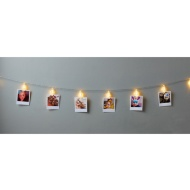 Photo Clip String LED Lights 15pc