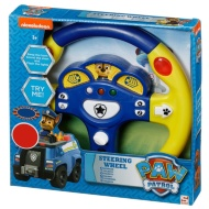 Paw Patrol Steering Wheel - Blue & Yellow