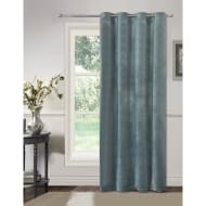 Opal Matte Velvet Fully Lined Curtain Panel 54 x 86