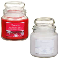 Essence Candle Jar Set 2pk - Cinnamon Spice & Winter Air