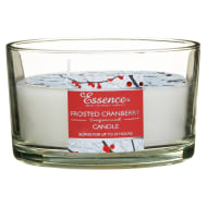 Essence 3 Wick Candle - Frosted Cranberry