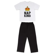 Mens Jersey Pyjamas - Nap King