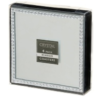 Diamante Mirror Coasters 4pk