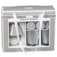 Glitter Candle Gift Set - Frozen Berries