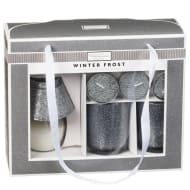 Glitter Candle Gift Set - Winter Frost