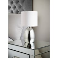 Lexy Metal Table Lamp - White