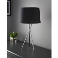 Tripod Table Lamp - Black