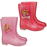 Kids Paw Patrol Glitter Wellies