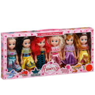 The Princess Collection 6pk