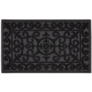 Premium Rubber Pin Doormat - Scroll
