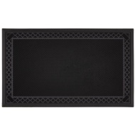 Premium Rubber Pin Doormat - Diamond Border