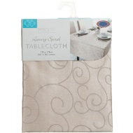 Small Spiral Tablecloth - New Gold