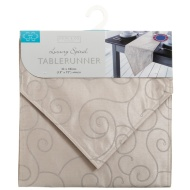 Small Spiral Table Runner - New Gold