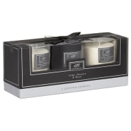 Karina Bailey Scented Candles 3pk - Lime, Orange & Basil