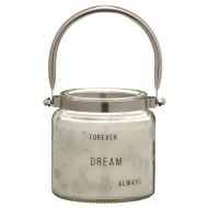 Glitter Candle Jar - Dream Big
