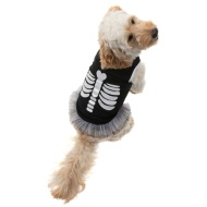 Dogs Halloween Dress - Skeleton