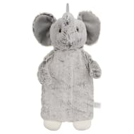 Snuggle Up Fluffy Hot Water Bottle - Elephant