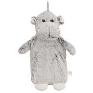 Snuggle Up Fluffy Hot Water Bottle - Hippo