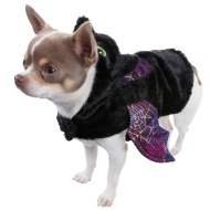 Dogs Halloween Costume - X Small-Small - Bat