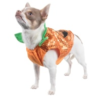 Dogs Halloween Costume - X Small-Small - Pumpkin