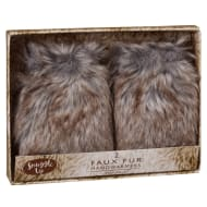 Fur Hand Warmers 2pk - Natural