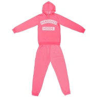 Ladies Hangover Hoodie Lounge Set - Neon Pink