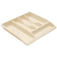 Addis Cutlery Drawer Organiser - Cream