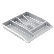 Addis Cutlery Drawer Organiser - Silver