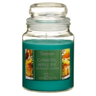 Essence Candle Jar 18oz - Caramel Apple Pie