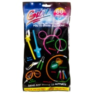 Glow in the Dark Party Pack 60pk