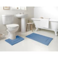 Signature Bath Mat - Cornflower