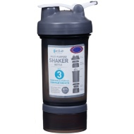 Multi-Purpose Shaker Bottle - Black