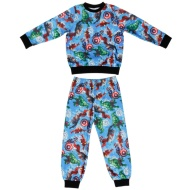 Kids Marvel Avengers Fleece Pyjamas