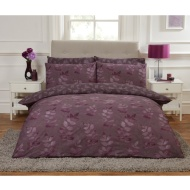 Leaf King Duvet Twin Pack - Purple