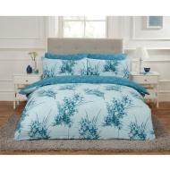 Leaf King Duvet Twin Pack - Duck Egg