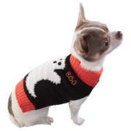 Dogs Halloween Jumper - X-Small/Small - Ghost