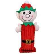Christmas Cruncher Squeaky Dog Toy - Elf
