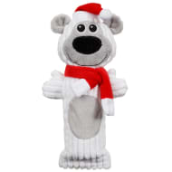 Christmas Cruncher Squeaky Dog Toy - Polar Bear