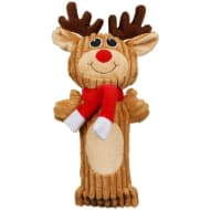 Christmas Cruncher Squeaky Dog Toy - Reindeer