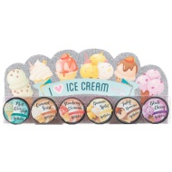 Ice Cream Lip Balm Set 6pk