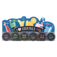 Cocktails Lip Balm Set 6pk
