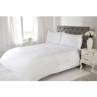 Silentnight Rosie King Duvet Cover - White